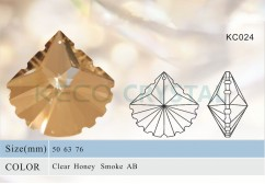 crystal chandelier parts, crystal pendant-(KC024)