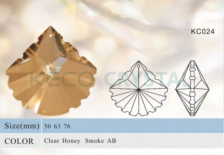 chandelier parts, crystal pendant-(KC024)