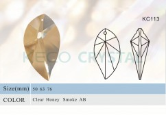 Chandelier drop, crystal pendant-(KC113)