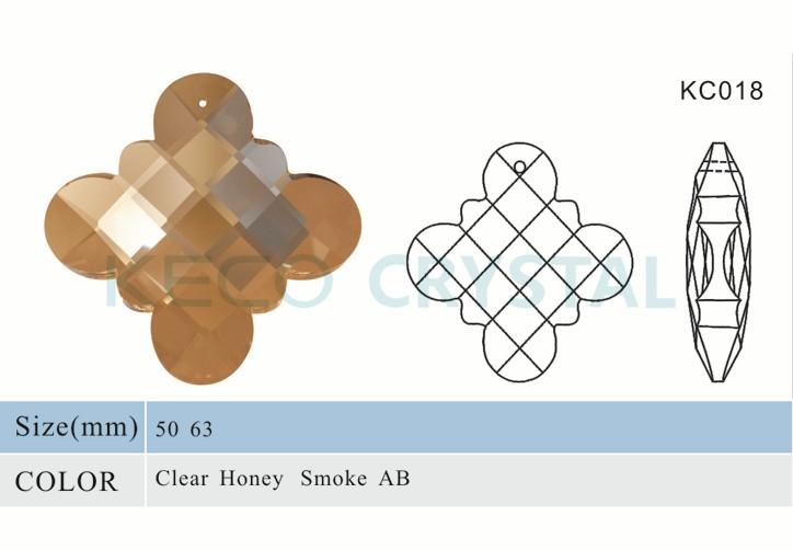 crystal pendant, chandelier crystal drop-(KC018)