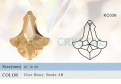 Crystal parts, parts for chandelier-(KC036)