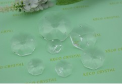 crystal chandelier parts,Bilateral Octagon crystal-(KC1080)