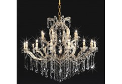crystal arm chandelier