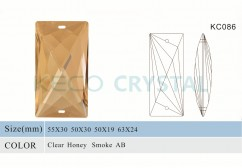 machine cut chandelier prisms-(KC086)