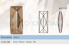 machine cut chandelier glass prism-(KC115)