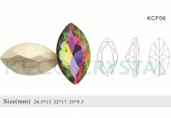 fancy crystal stones-(KCF06)