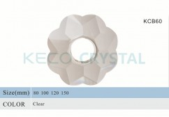 hand made crystal bobeche-(KCB60)