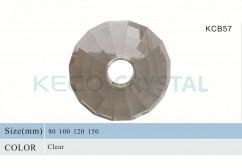 crystal glass bobeches-(KCB57)