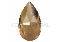almond shape chandelier crystal drops -(KC872)