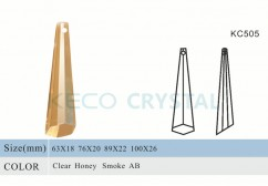Hexagonal prism for crystal chandelier-(KC505)
