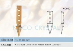 sharp crystal prism for chandeliers-(KC022)