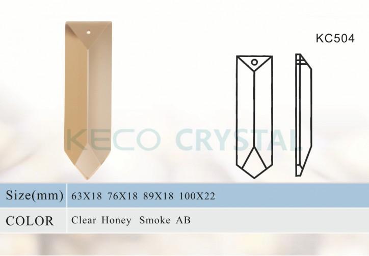 Sharp Glass Prism Of Crystal Chandelier, Chandelier Parts Glass